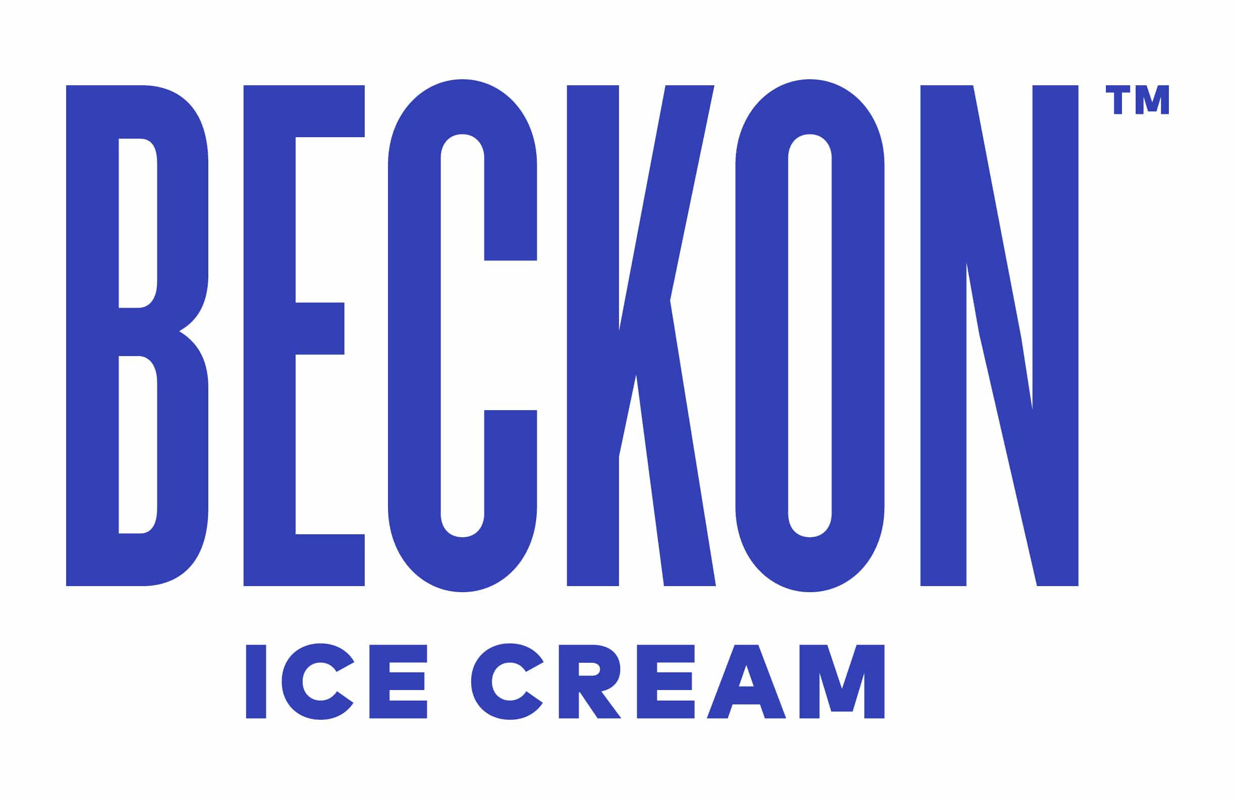 beckon ice cream logo