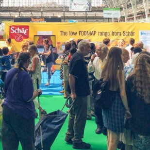 Free-From Show in London. Low FODMAP in London