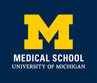 University or Michigan Medical School logo