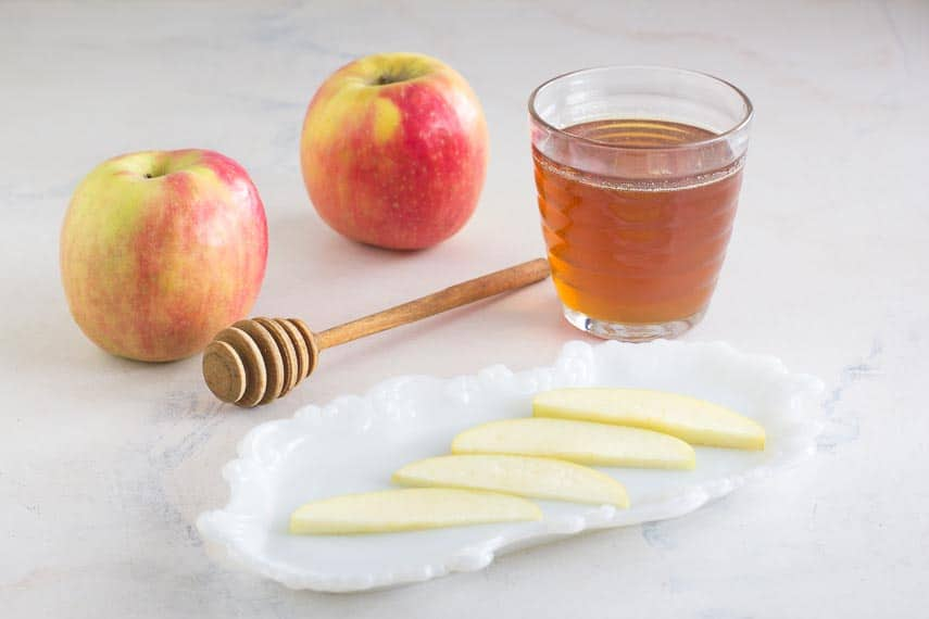 apples & honey can be low FODMAP in small amounts