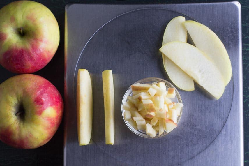 low FODMAP amounts of Pink Lady Apples_