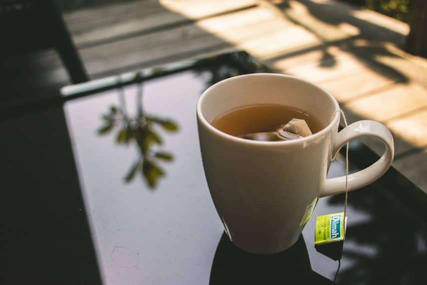 Navigating the Supermarket for Low FODMAP Foods - Hot cup of tea
