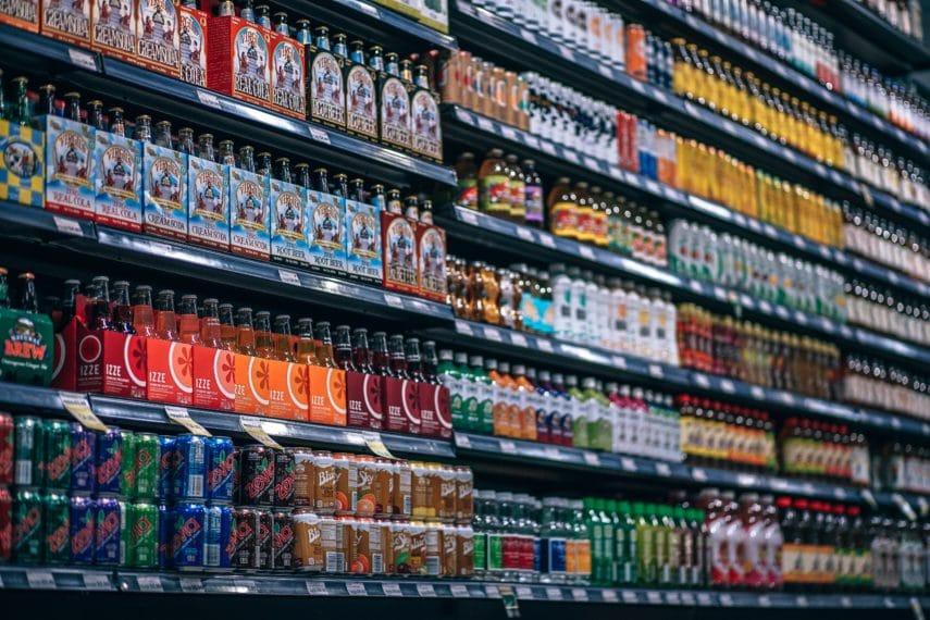 Navigating the Supermarket for Low FODMAP Foods - soda section