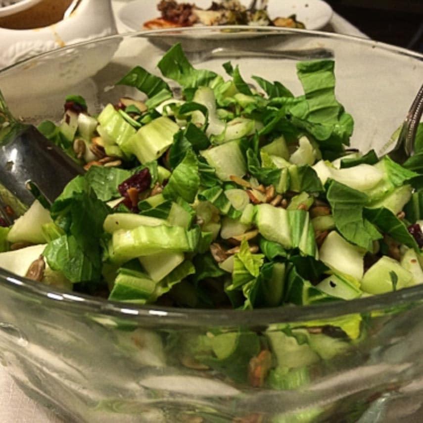 bok choy salad from Tamara Duker Freuman