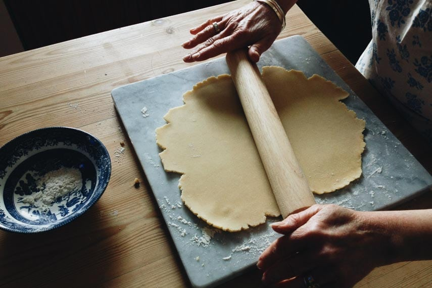 How Are Low FODMAP Recipes Created? rolling pie dough