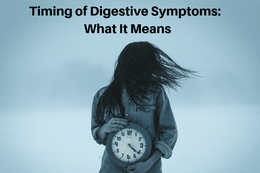 Timing of Digestive Symptoms: What It Means