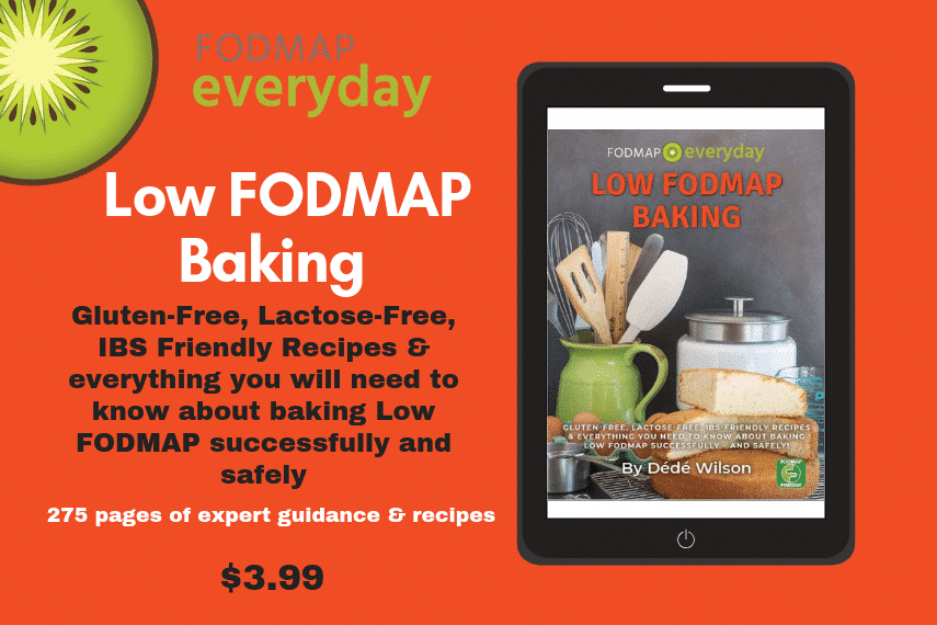 FODMAP Everyday Low FODMAP Baking Guide and Recipe Ebook