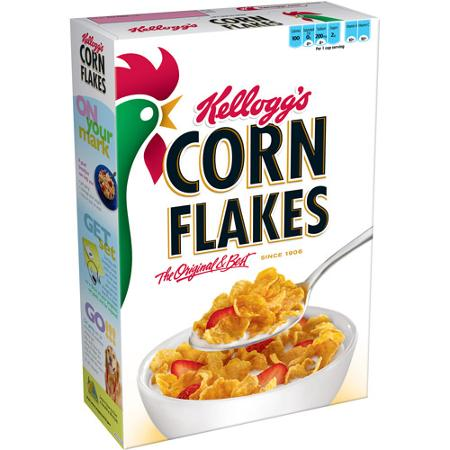 kelloggs corn flakes box