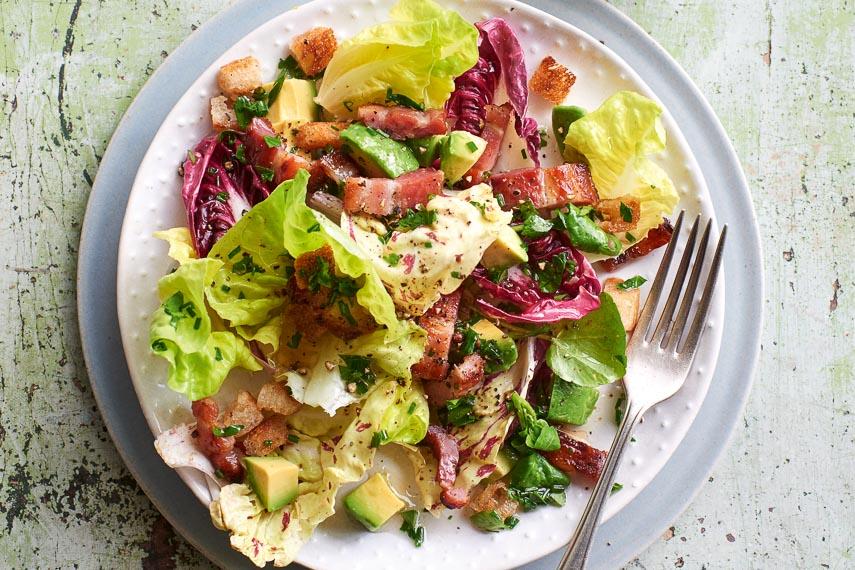 p41 Warm Bacon & Avocado Salad