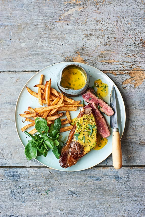 p73 Steak with Béarnaise Sauce & frites
