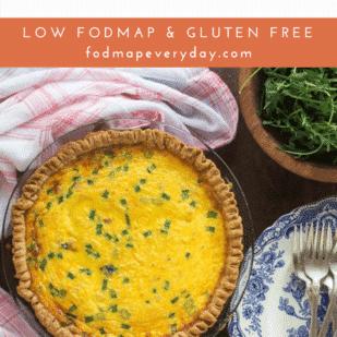 Ham & Cheese Low FODMAP Quiche - FODMAP Everyday
