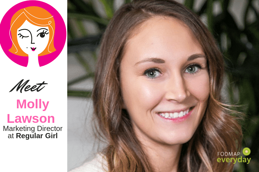 Meet Molly Lawson, Marketing Director for Regular Girl - The Synbiotic Fiber You Have Been Waiiting For!