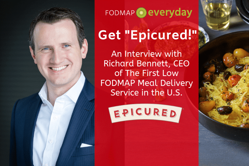 CEO and Co-Founder of Epicured - Richard Bennett