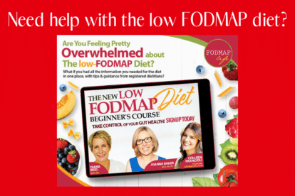 Featured Image for the Low FODMAP DIet Beginners Course