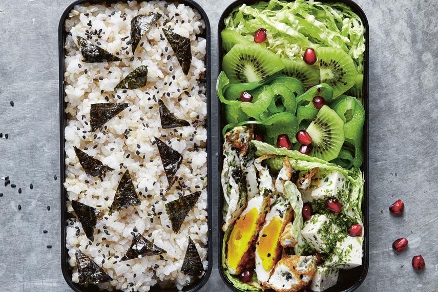 Green Theme Bento Box Lunch from Bento Power