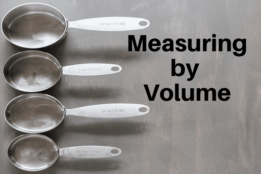 ow to Measure by Volume