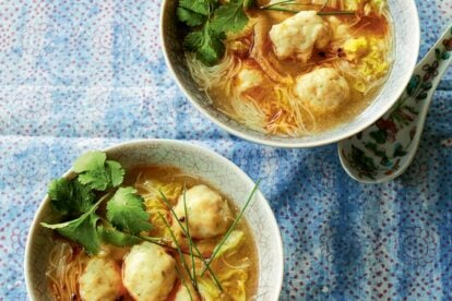 Ching's Fish Ball Noodle Soup. cropped