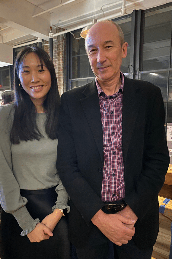 Charmaine Duong APD, Business Development and Marketing Manager and Tim Mottin, Founder of FODMAP Friendly Food Program