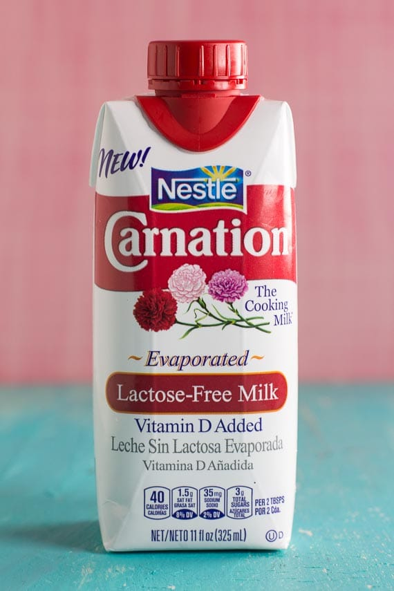 Carnation lactose-free evaporated milk