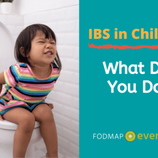IBS in Children: What Do You Do? So you suspect your child has IBS. You may be wondering what to do next - or first? - Child struggling to poop while sitting on the toilet