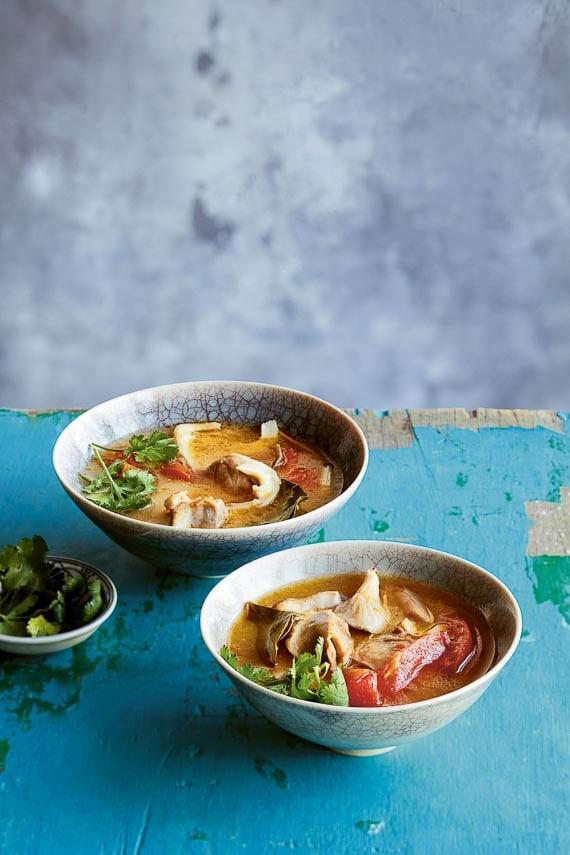 Thai-Inspired Chicken Coconut Broth