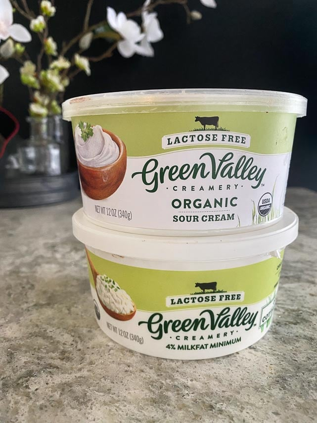 Green Valley Creamery products. Their Sour Cream vs Cottage Cheese