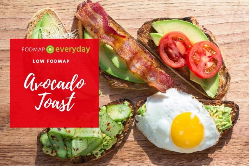 Avocado Toast with Bacon, Eggs and Tomato