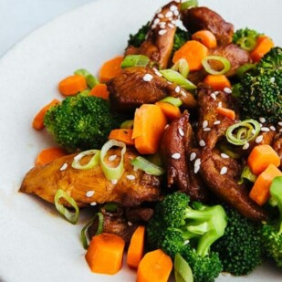 Orange Chicken & Broccoli Bowl 2