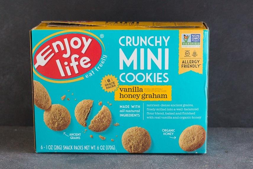 Box of Enjoy Life mini Vanilla Honey Grahams