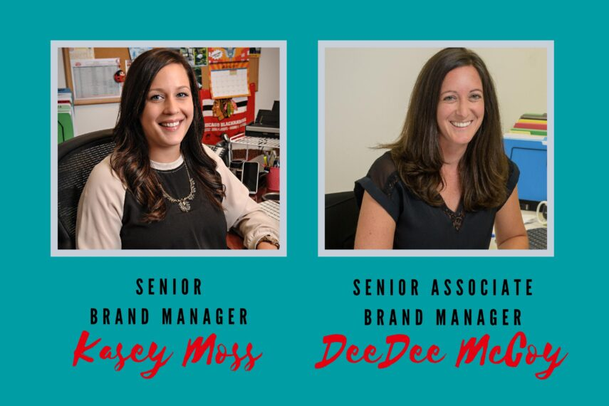Profile shots of Kasey Moss and DeeDee McCoy from Enjoy Life Foods