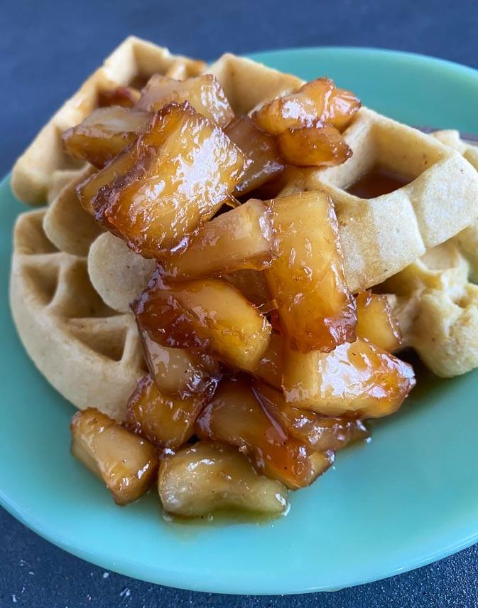 caramelized pineapple sauce