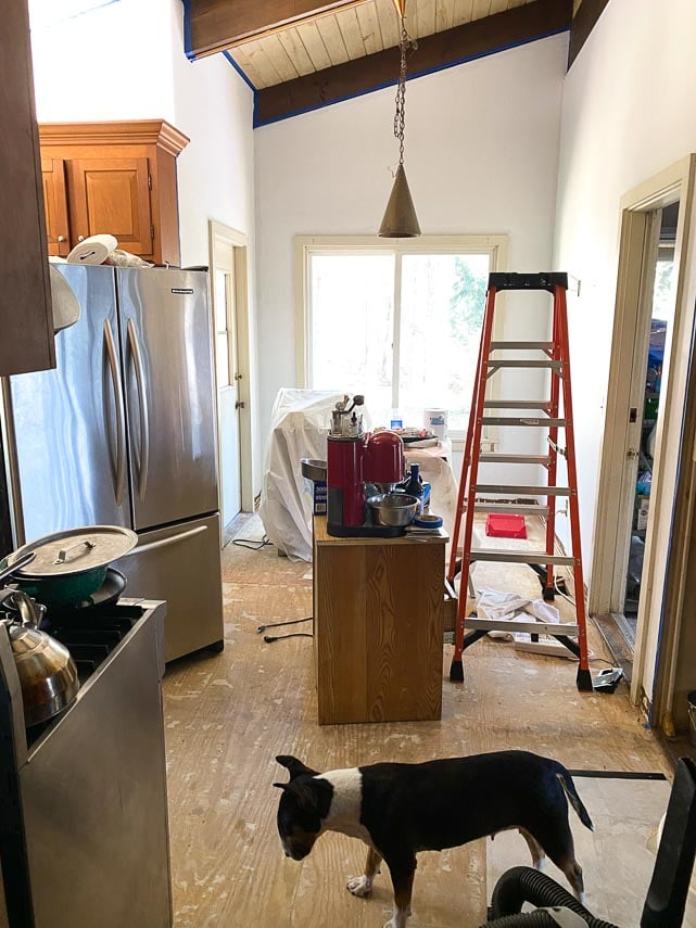 kitchen rehab