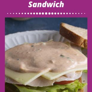 Low FODMAP Turkey & Swiss Sandwich