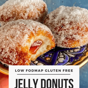 Low FODMAP Jelly Donuts