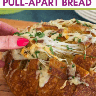 Low FODMAP Cheesy Pull-Apart Bread