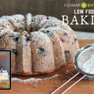 Low FODMAP Baking Ebook Feature Image