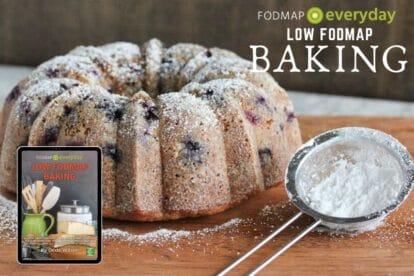 Low FODMAP Baking Ebook Feature Image