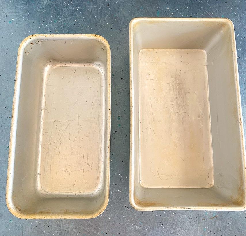 comparing loaf pans