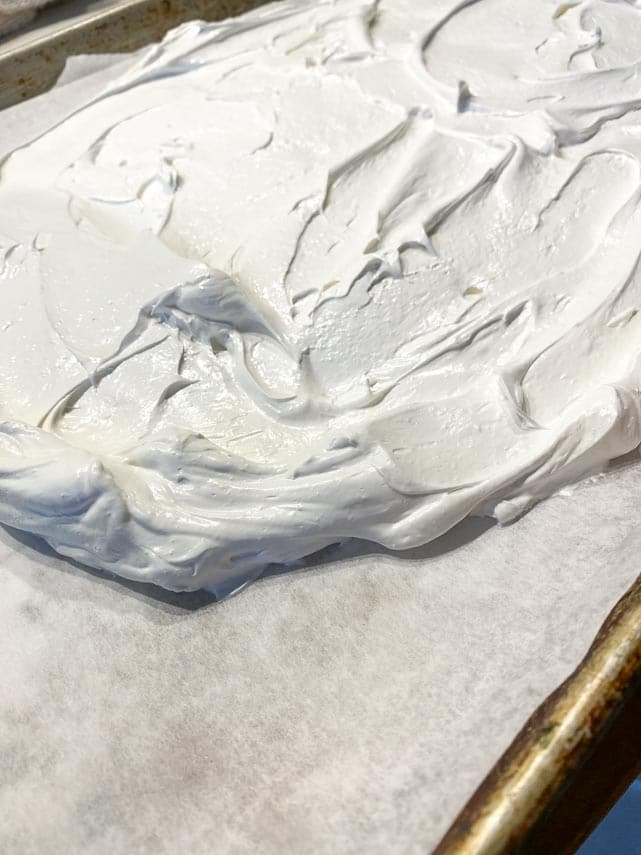 variable thickness of slab pavlova