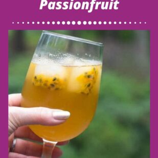 Low FODMAP Iced Green Tea With Passionfruit - FODMAP Everyday
