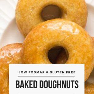 Low FODMAP Baked Doughnuts