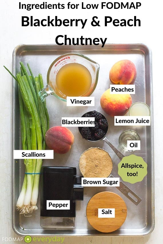 Ingredients for Chutney
