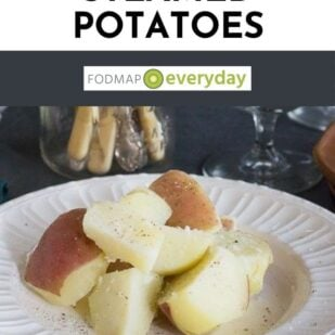 No FODMAP Steamed Potatoes