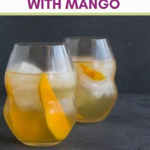 Low FODMAP Iced White Tea With Mango