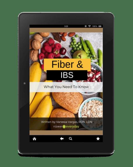 FIber and IBS ebook cover