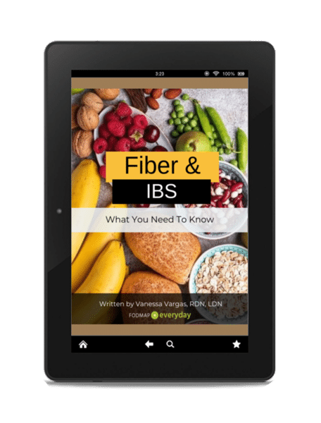 FIber and IBS ebook cover