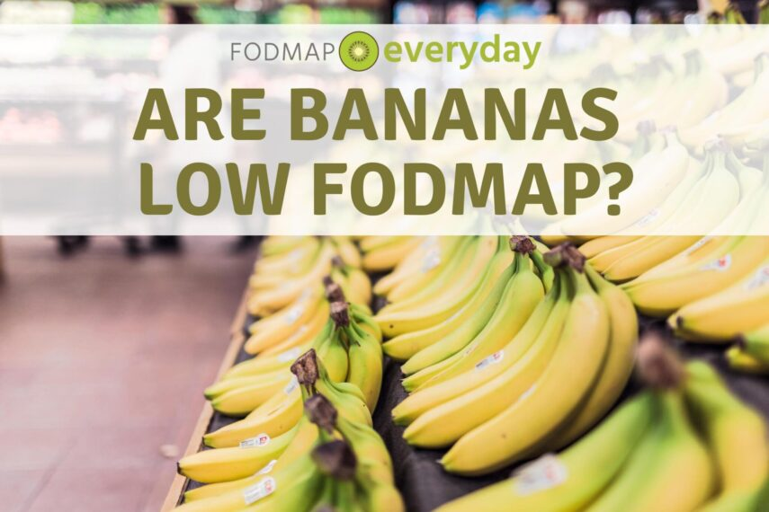 low fodmap diet banana