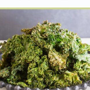 Loaded Low FODMAP Kale Chips