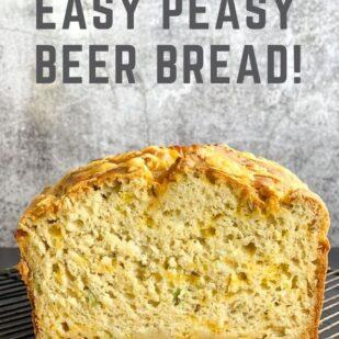 Low FODMAP Beer Bread