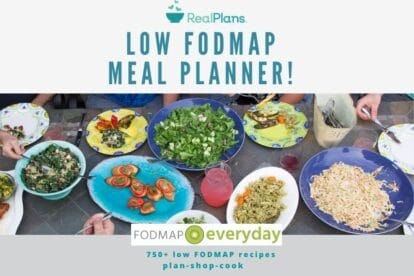 Low FODMAP Meal Planner